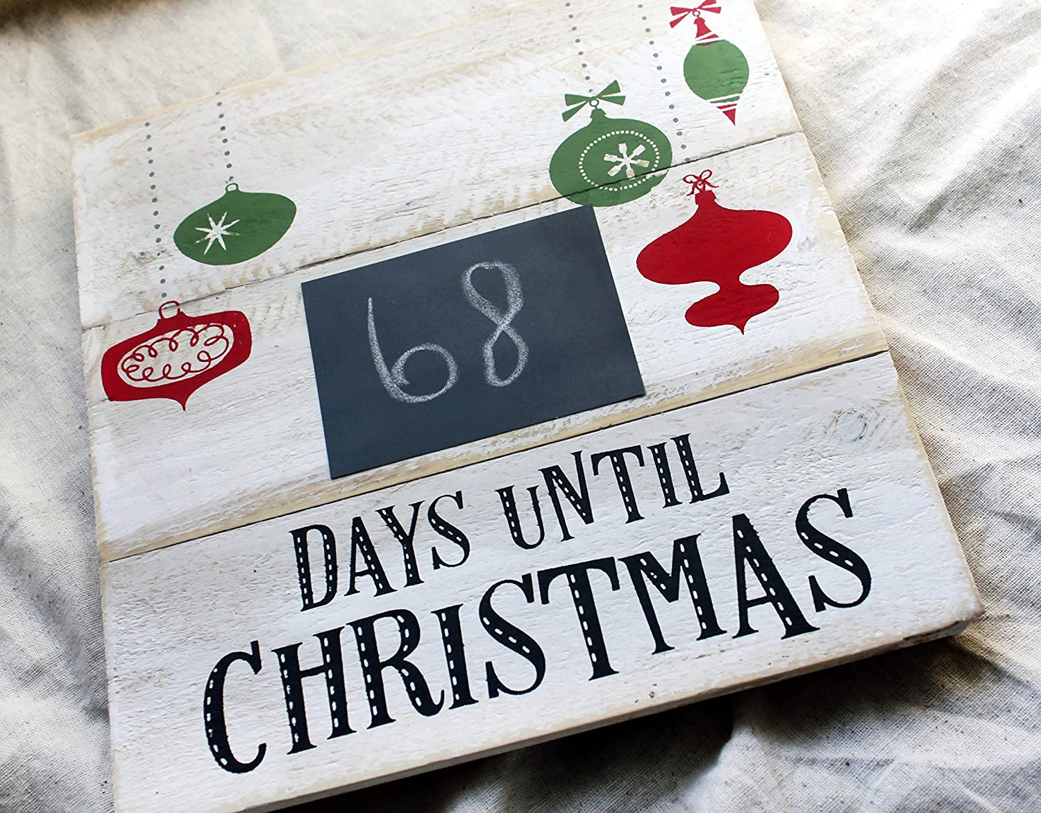 Days Until Christmas Countdown.Amazon Com Christmas Countdown Calendar Days Until