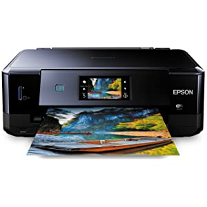 Epson Expression Photo XP-760 All-in-One Photo Printer with Claria Photo HD Ink, Wi-Fi and Touch Panel (Print/Scan/Copy) - Black