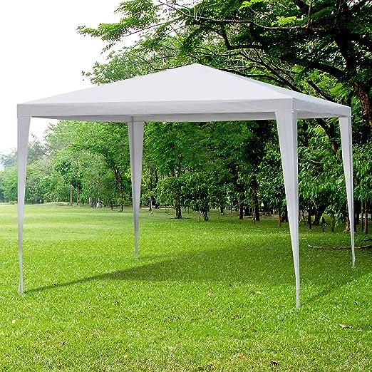 Carpa 3x3m Desmontable Estructura Acero Tela Poliester Impermeable ...