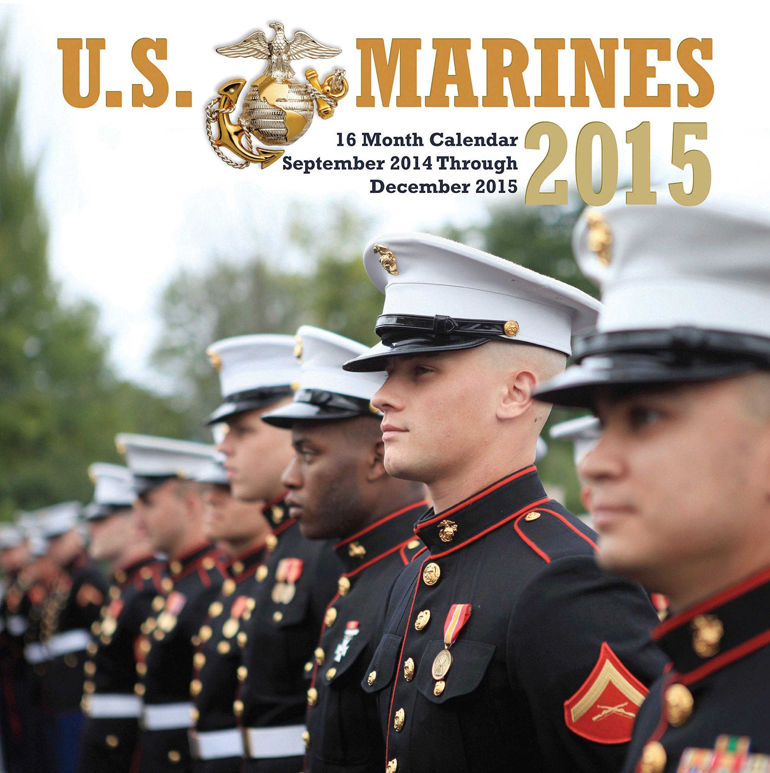 U.S. Marines 2015 Mini: 16-Month Calendar September 2014 through December 2015 PDF ePub fb2 ebook