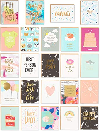 Congratulations card cheerful all occasions card that says congrats! happy birthday colorful card for a party