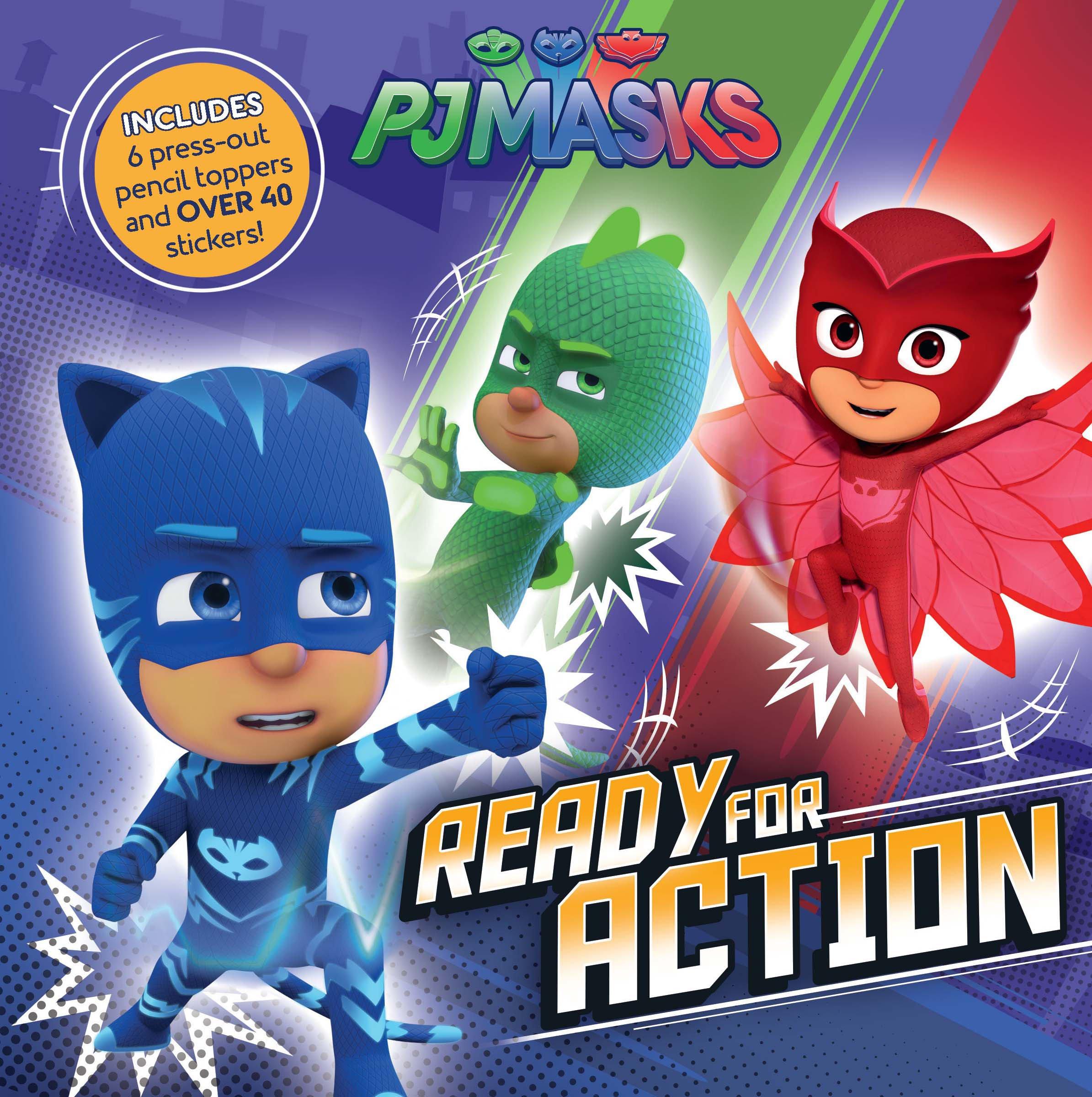 PJ Masks: Ready for Action: Amazon.es: Parragon Books Ltd ...