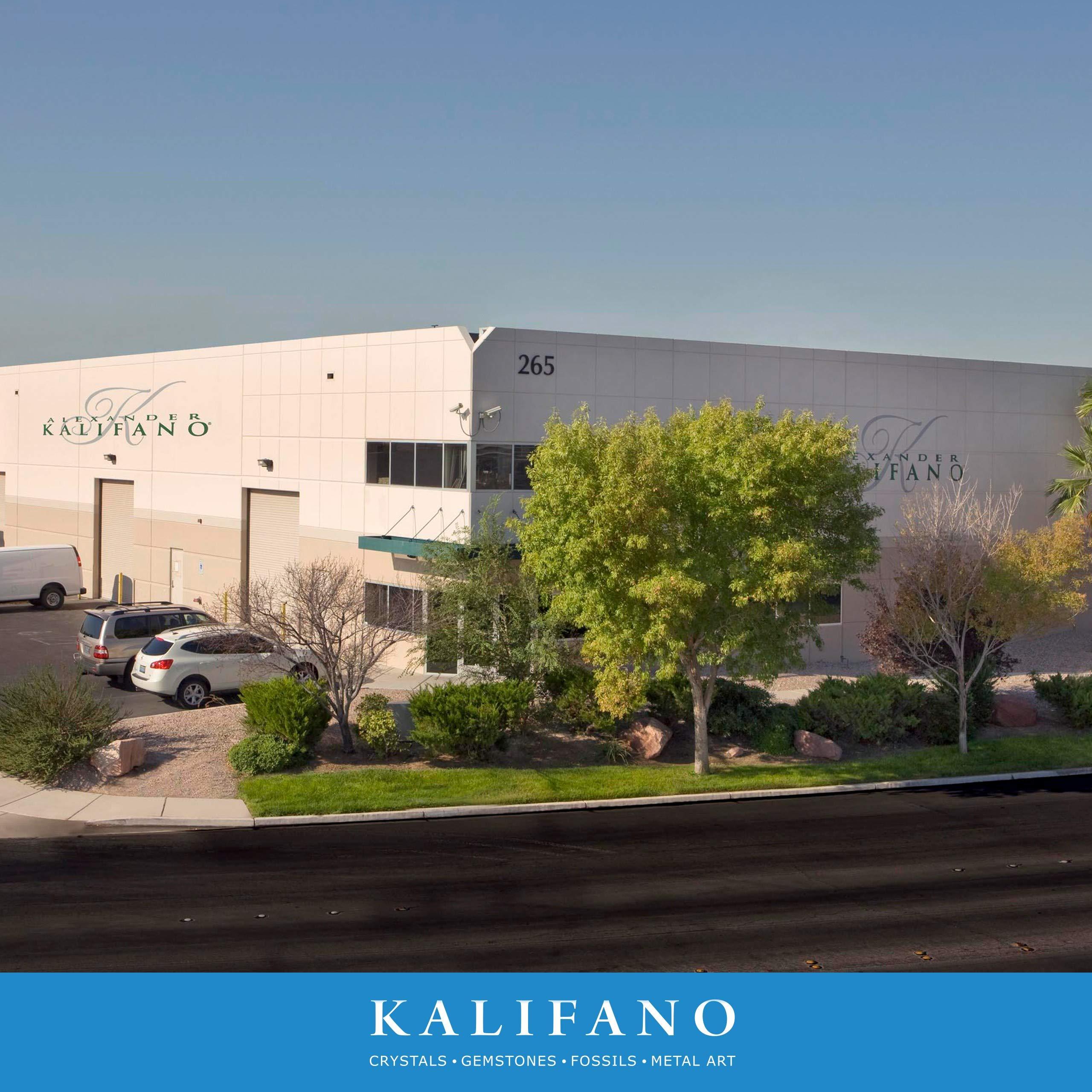 13'' Kalifano Gemstone Globe with Lapis Ocean on 37'' Ambassador 3-Leg High Stand