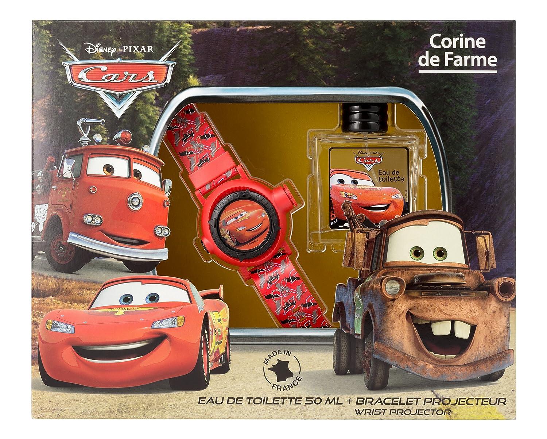 Corine de Farme Coffret Disney Cars Eau de Toilette + Bracelet Projecteur 50 ml 096247
