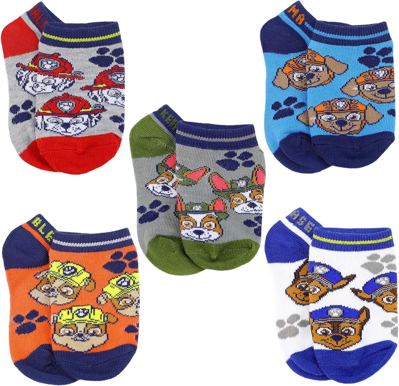 Paw Patrol Boys 5 Pack Shorty Socks
