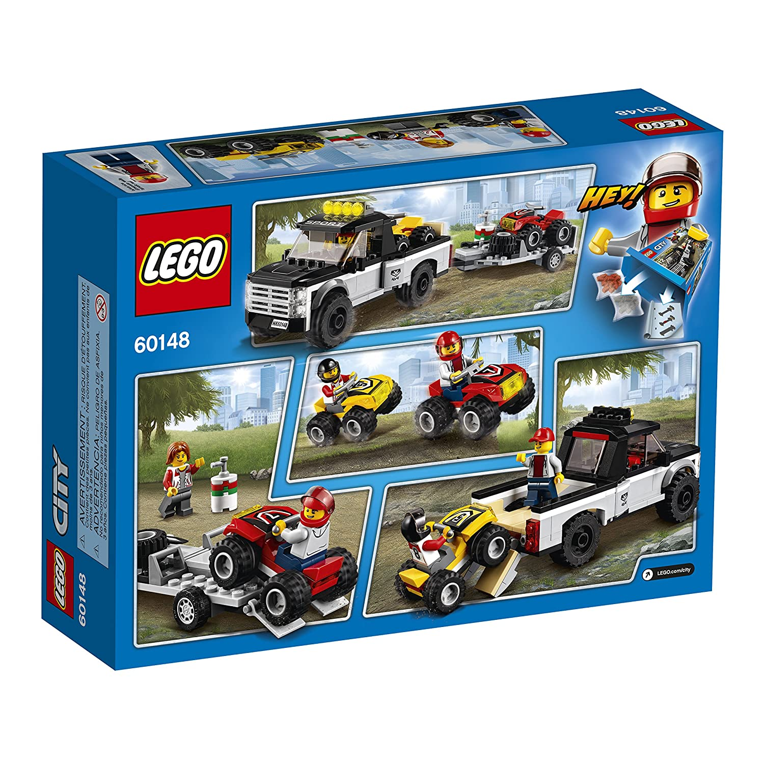 LEGO City Race Team 60148 Image 3