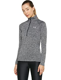 fc5177e0438 Amazon.com: Under Armour Women's Tech 1/4 Zip Shirt: Clothing