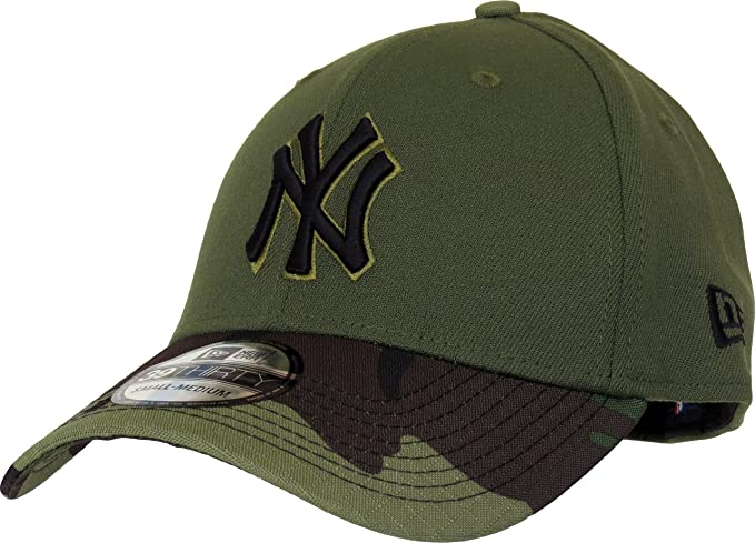 New York Yankees New Era 2017 Memorial Day 39THIRTY Flex Hat - Green Camo ( 55c7b0548b0