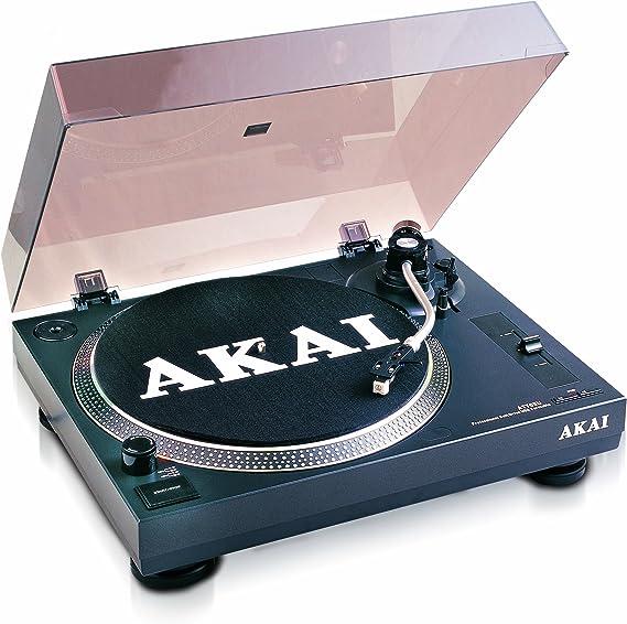 Akai ATT05U - Tocadiscos para equipo de audio (USB), negro: Amazon ...