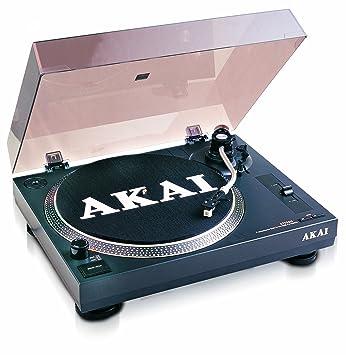 Akai ATT05U - Tocadiscos para equipo de audio (USB), negro