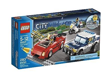Amazoncom Lego City Police High Speed Chase Building Set 60007