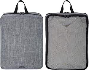 2 Set Packing Cubes Clothes Organizer Bags, Lightweight Double Layer Travel Luggage Packing Home Closet Organizers for Clothes and Accessories