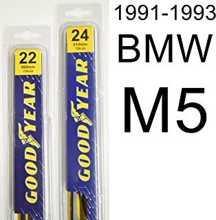 "product image for BMW M5 (1991-1993) Wiper Blade Kit - Set Includes 22"" (Driver Side), 24"" (Passenger Side) (2 Blades Total)"
