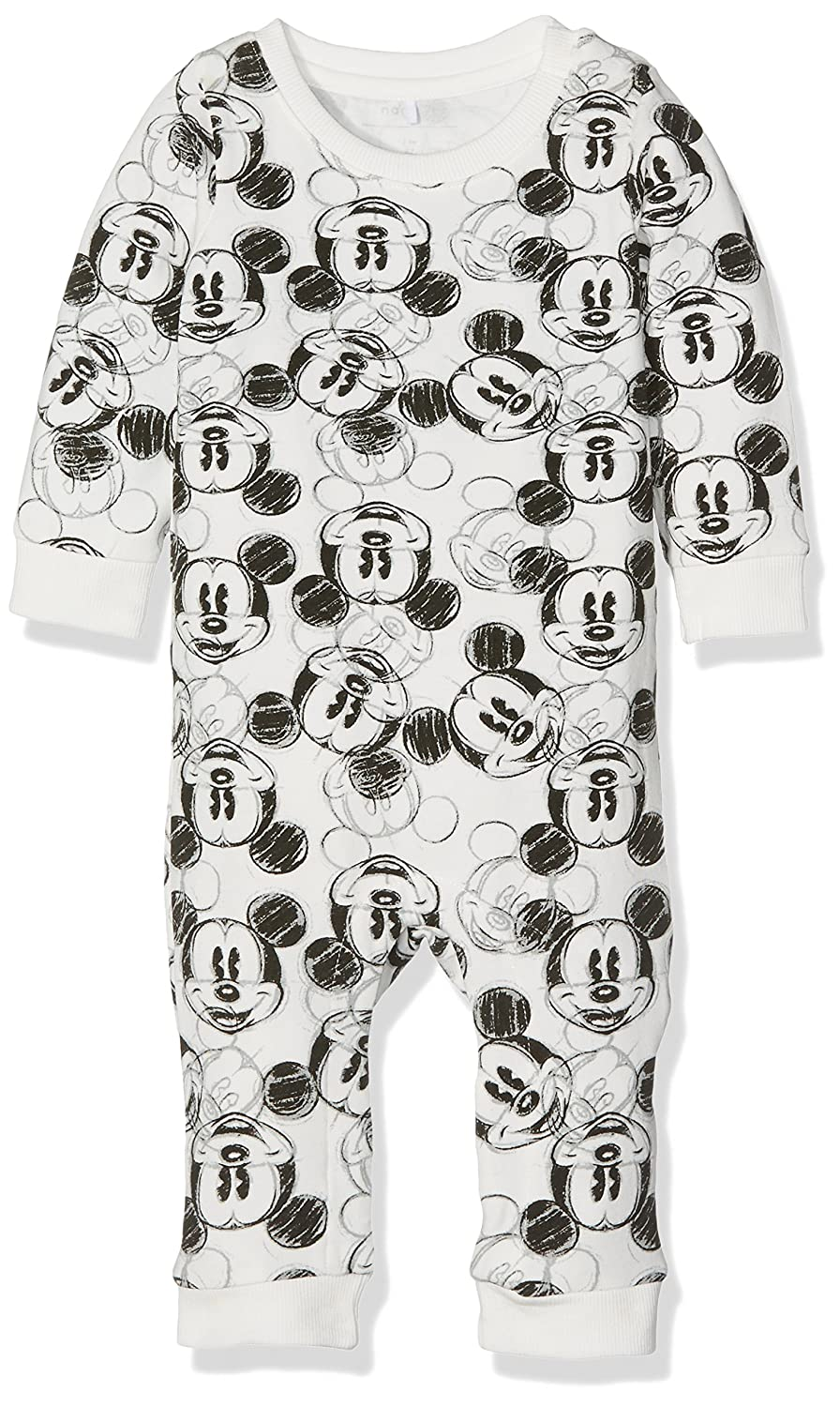 NAME IT Baby-Jungen Strampler Nitmickey Lincoln Bodysuit Mznb Wdi 13138921