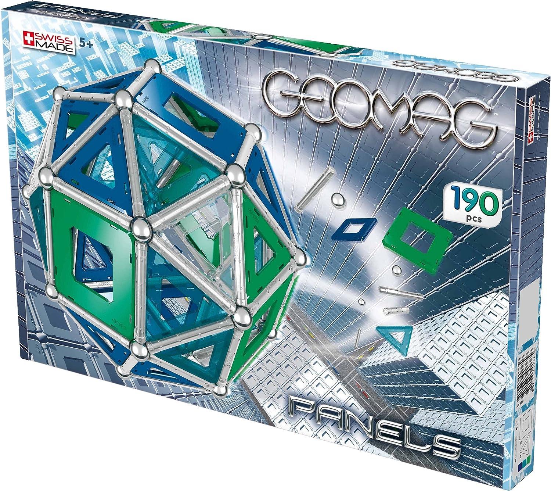 Geomag 365 Kids Panels - Juego magnético de 190 piezas [Importado de Alemania]: Amazon.es: Juguetes y juegos