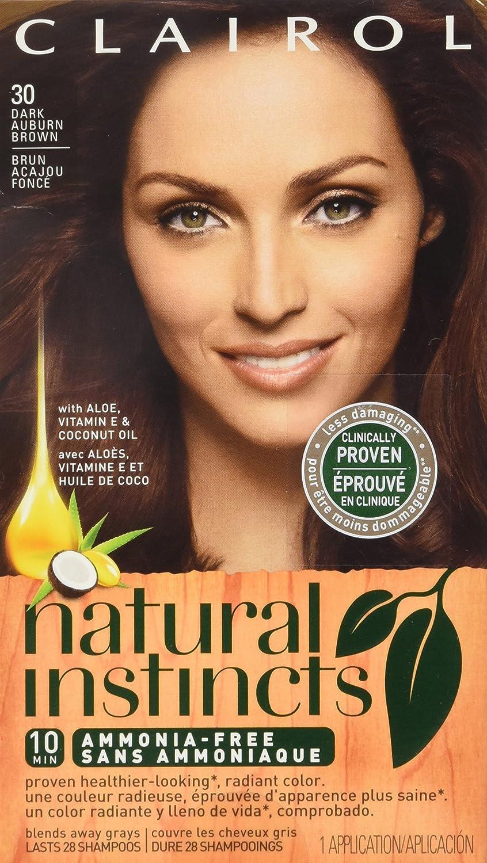 Amazon Clairol Natural Instincts Hair Color 30 Rosewood Dark