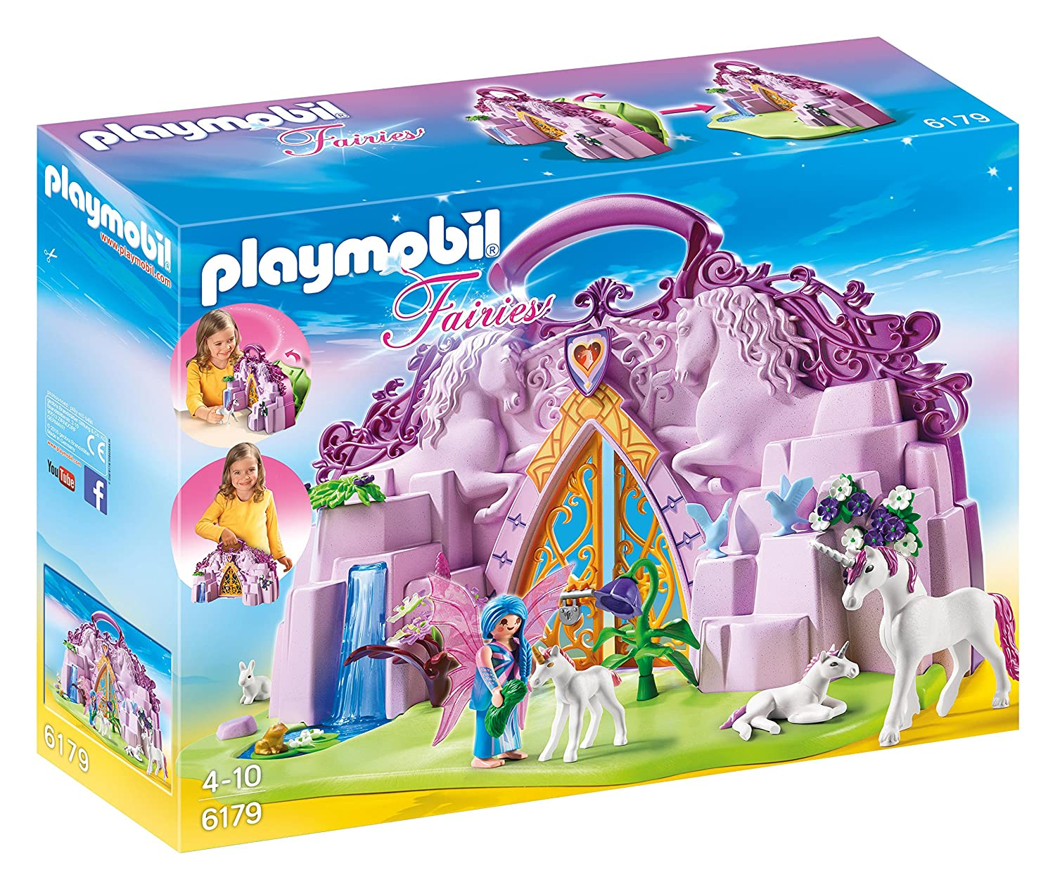 $26 (was $32.99) Playmobil Take Along Fairy Unicorn Garden Playsets