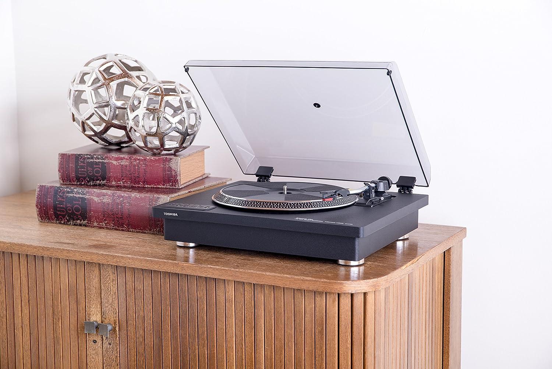 Amazon.com: Toshiba - Tocadiscos con altavoces estéreo ...