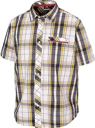 Trespass Walden - Camisa/Camiseta para Hombre, Color Amarillo ...