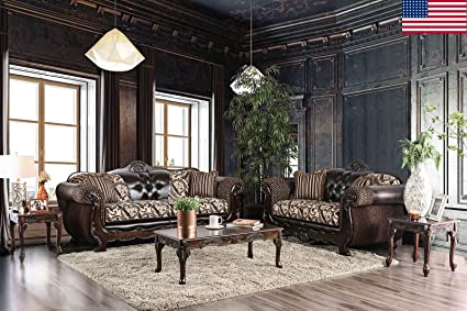 Amazon.com: Esofastore Traditional Formal Living Room Sofa ...
