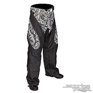 Moto Pants Vertigo Black / White PWC Jetski Ride & Race Gear