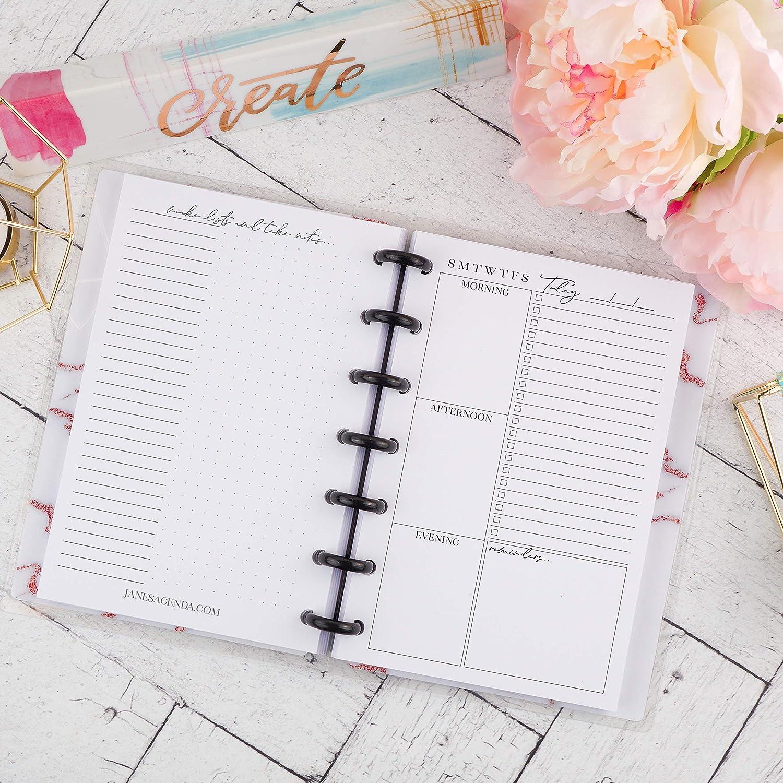 Amazon.com: Daily Mini Planner Inserts | Refill for mini ...
