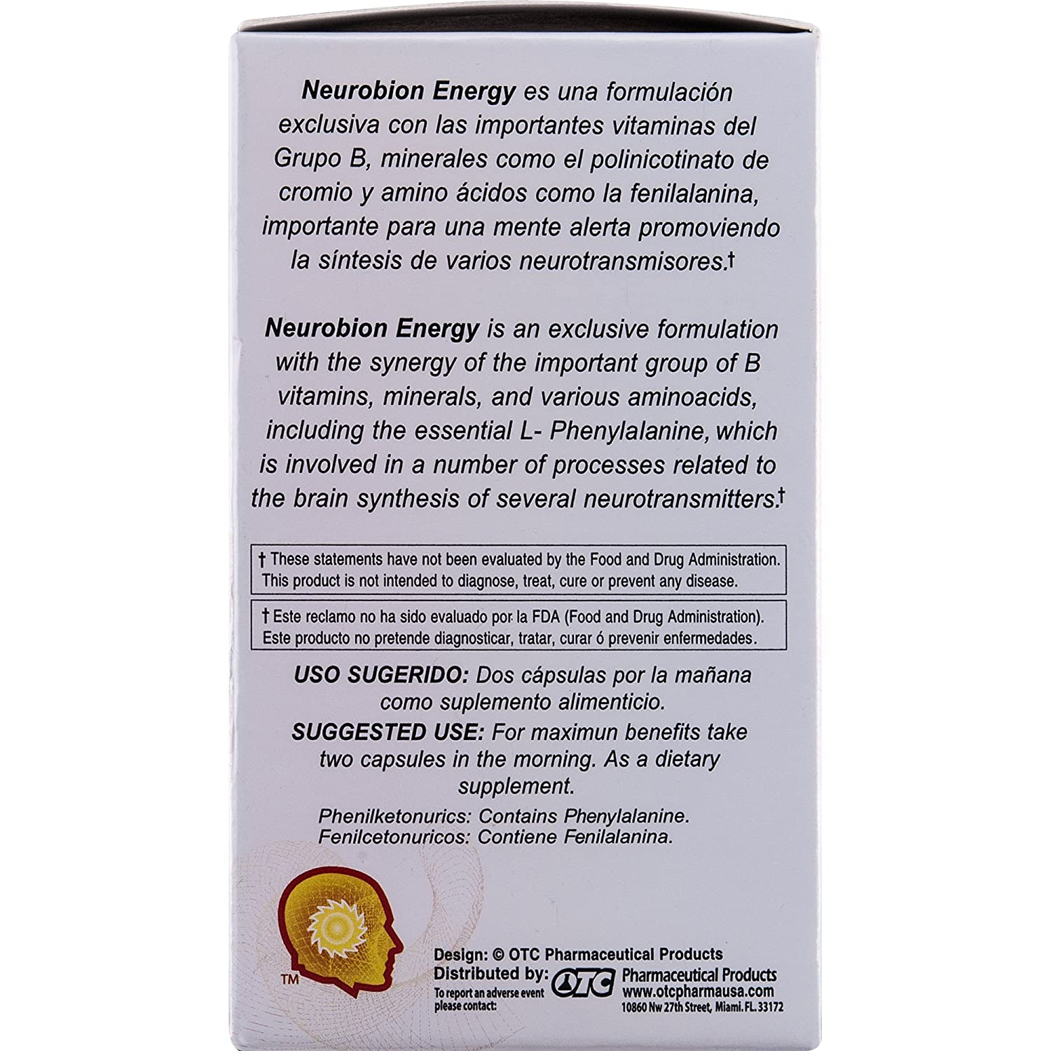 Amazon.com: Neurobion Energy 60 Caps. May Help to Increase Energy and Reduce Stress.: Health & Personal Care