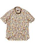(ビームスライツ)BEAMS LIGHTS/半袖シャツ/リバティプリント半袖シャツ メンズ