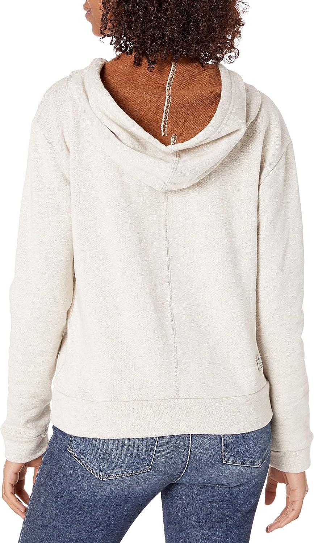 Hurley Juniors Two-Faced Half Zip Pullover Fleece Sweatshirt