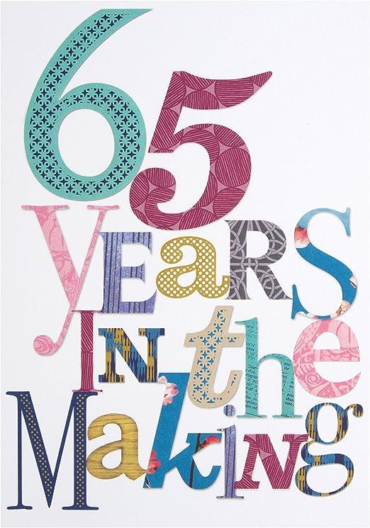 Amazon.com: 65th – 65 años en el Mercado de cumpleaños ...