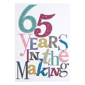 65th cumpleaños - 65 años en el diseño de Leigh Ann Tennant ...