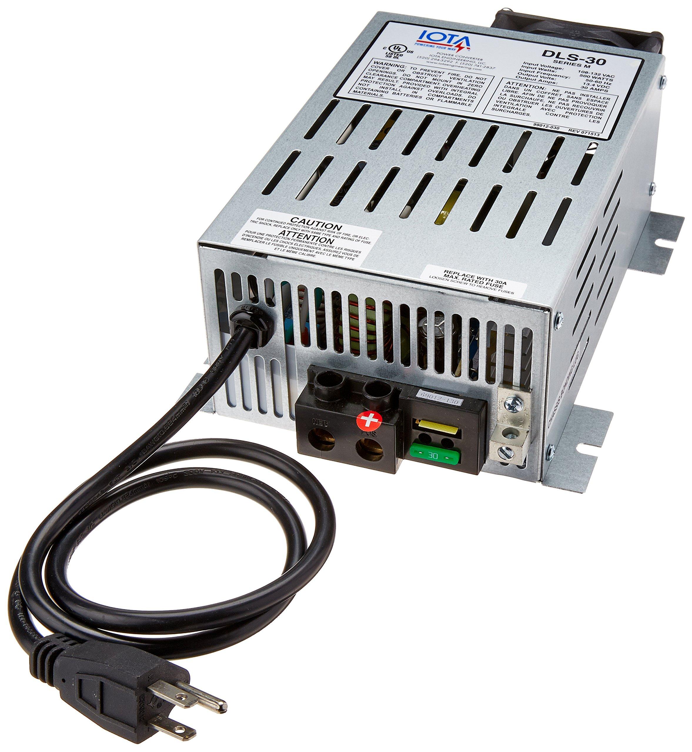 IOTA Engineering (DLS30 30 Amp Power Converter/Battery Charger by IOTA Engineering