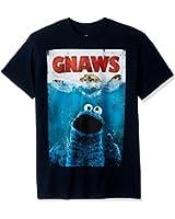 Sesame Street - - T-shirt ronge hommes