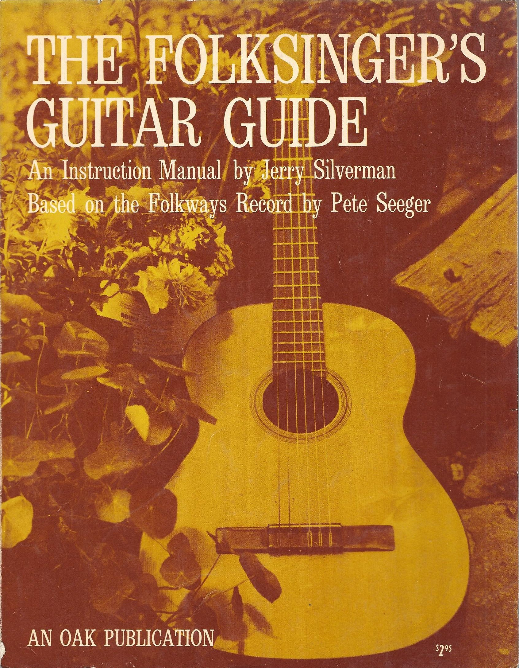 The Folksingers Guitar Guide An Instruction Manual Jerry