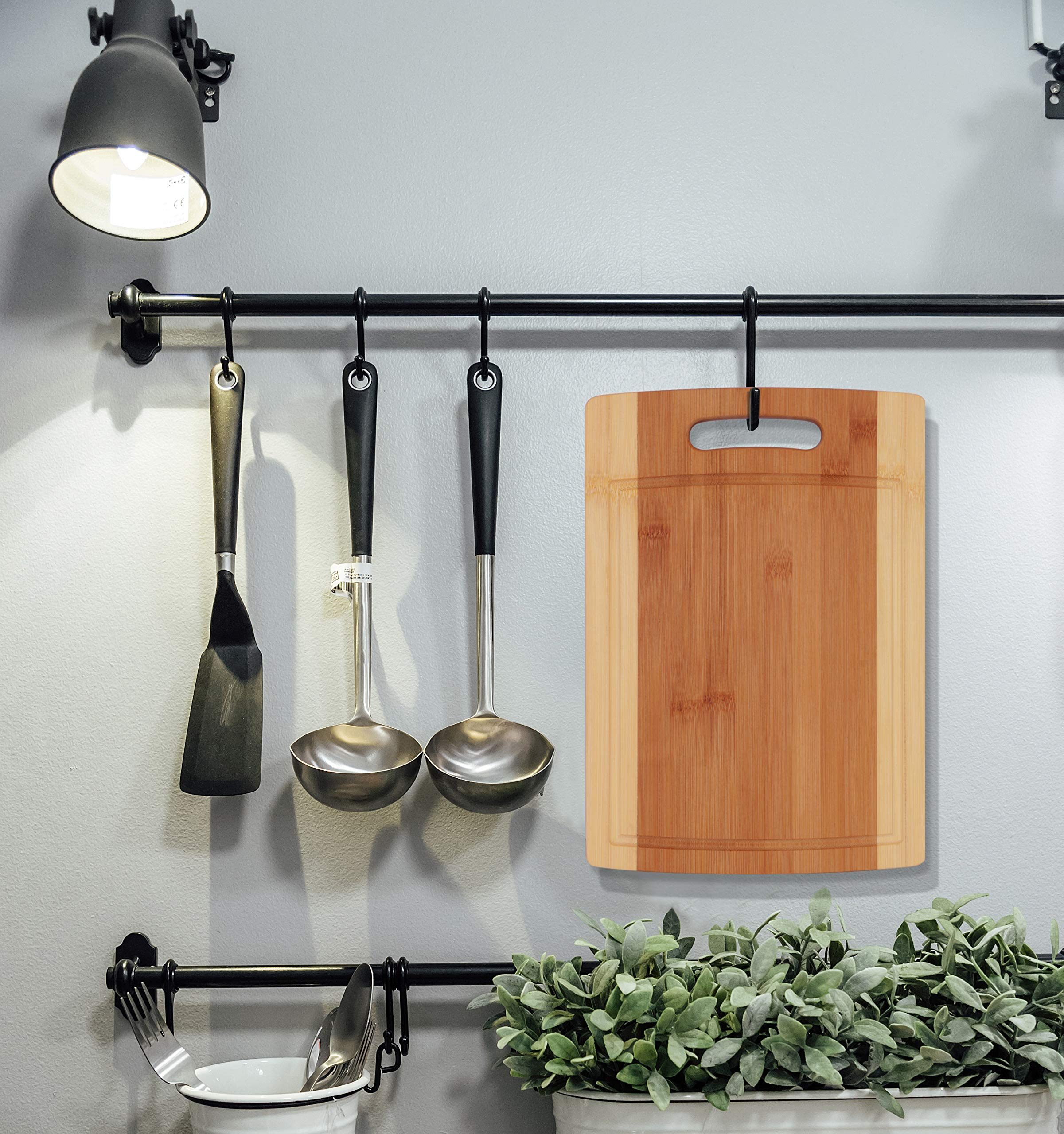 Utopia Kitchen Natural Bamboo Cutting Boards with Juice Grooves - Wooden Cutting Boards 3 Piece Set by Utopia Kitchen (Image #6)