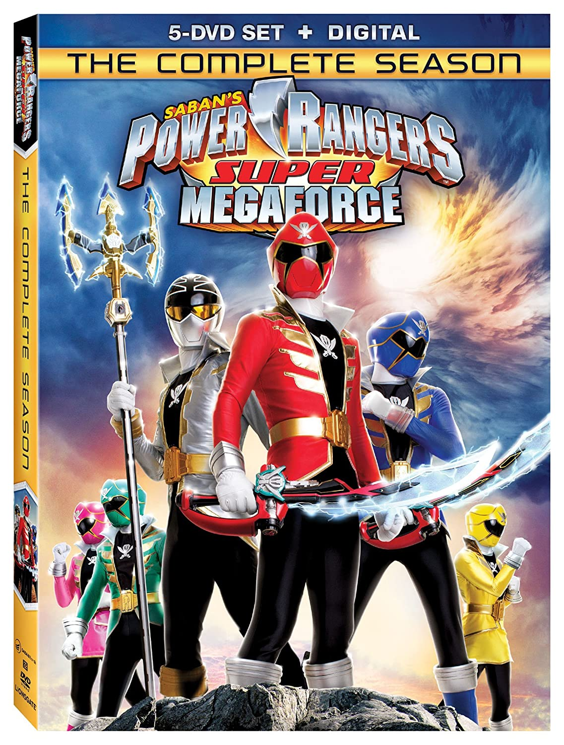 Amazon.com: Power Rangers Super Megaforce: The Complete ...