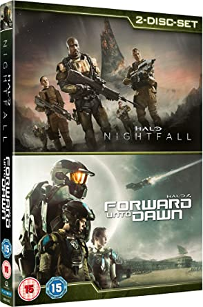 Amazon Com Halo 4 Forward Unto Dawn Halo Nightfall Double Pack Dvd Movies Tv