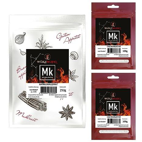 Natriumalginat & Calciumlactat Molekulare Küche Fruchtkaviar - Set ...