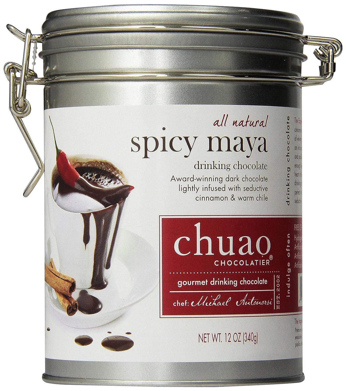 Chuao Gourmet Drinking Chocolate 12 Oz. Tin Can (Spicy Maya ...