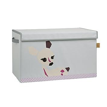 Lässig Storage Toy Trunk Aufbewahrungsbox mit Deckel für ...