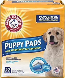 Arm & Hammer Ultra Absorbent Puppy Pads - 50 count