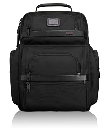 Amazon.com  TUMI - Alpha 2 T-Pass Business Class Laptop Brief Pack - 15  Inch Computer Backpack for Men and Women - Black  iServe 2046789ca2e71