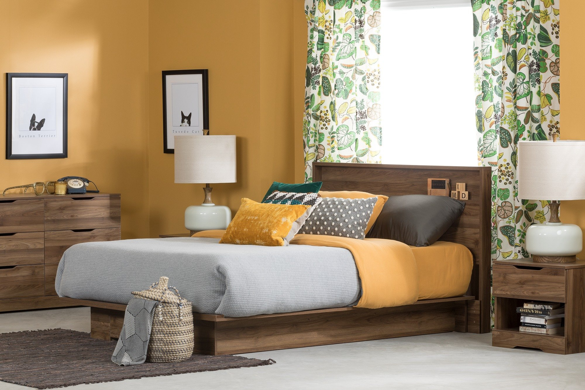 A Clever Play Of Dark Chocolate Toned Walnut Color With Pastels Or Whites  Cultivates A Comfortable And Tranquil Environment In The Sleeping Room.