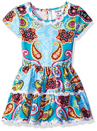 Counting Daisies Fille F715296 Robe pour Occasion spéciale - Bleu - 2 Ans a45c898ac2f6