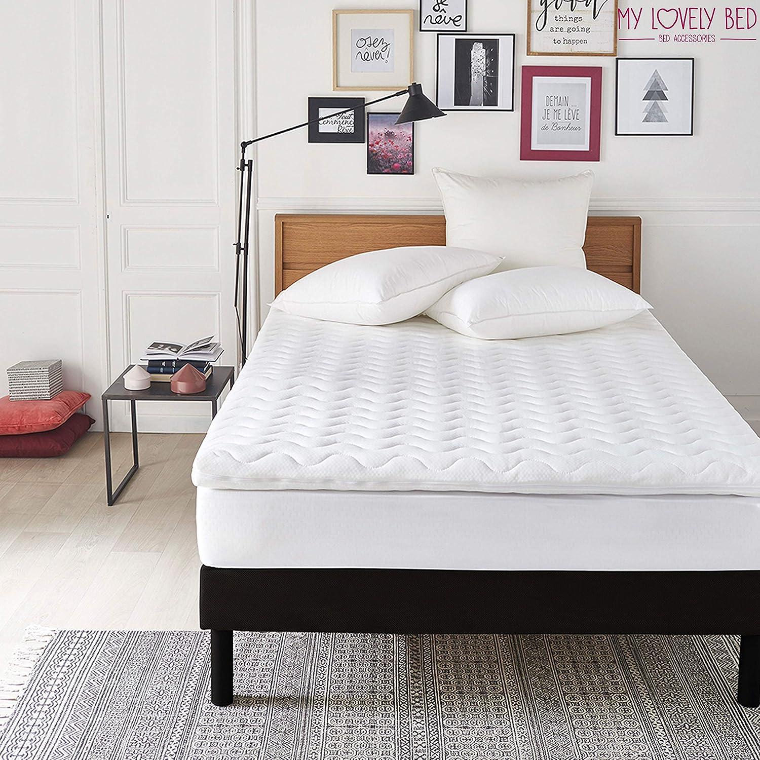 90x190//200 cm Ergonomico My Lovely Bed Rinnova il materasso Correttore Materasso Memory Topper Memory Foam Singolo Altezza 7CM