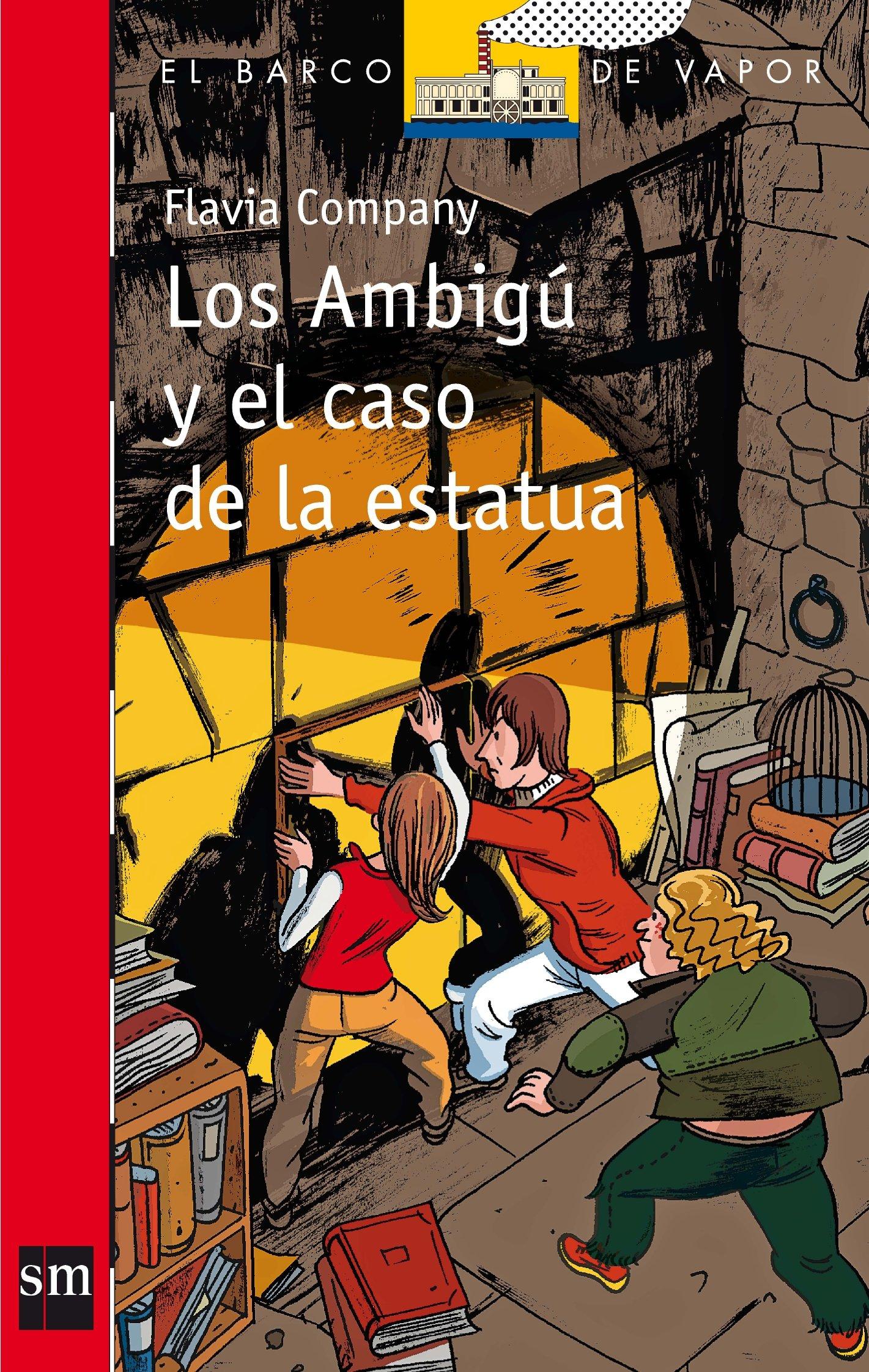 Los ambigú y el caso de la estatua El Barco de Vapor Roja ...