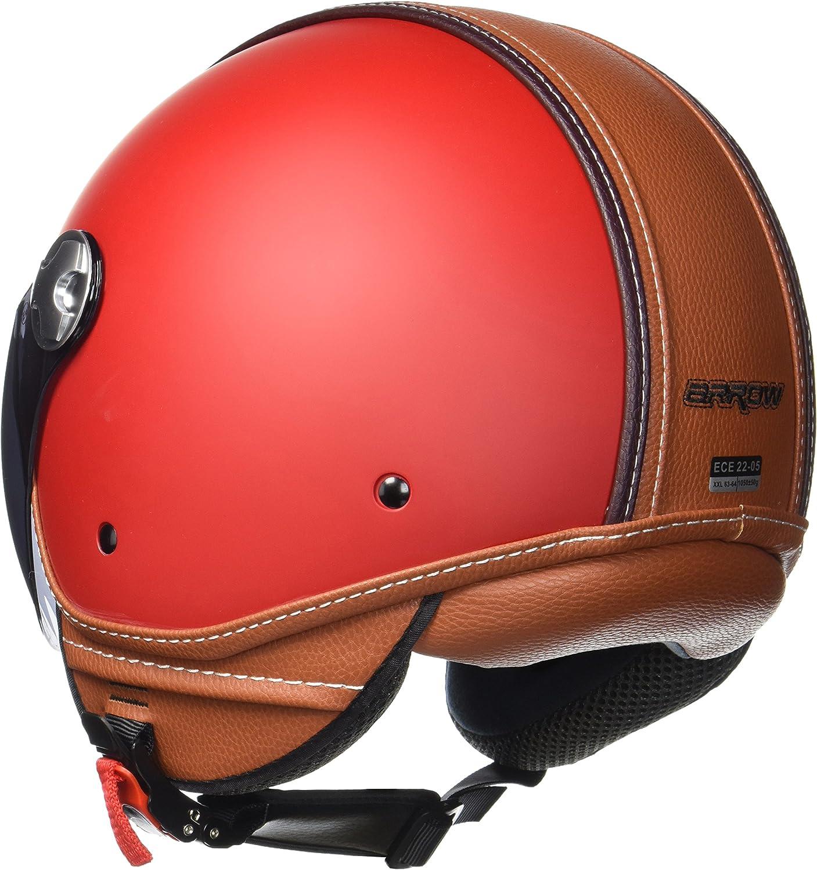 XXL ARMOR Helmets AV-84 Casque Moto Jet 63-64cm Multicolore//Croko