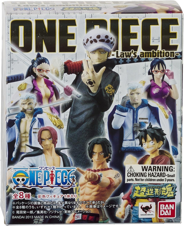 Chozokei Damashii x Laws Ambitious Series Bandai Japanese Import One Piece Smoker in Tashigi ~3.3 Mini-Figure
