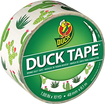 Duck Duct Tape Pack of 6 Black 1.88 Inches x 20 Yards 1 ea