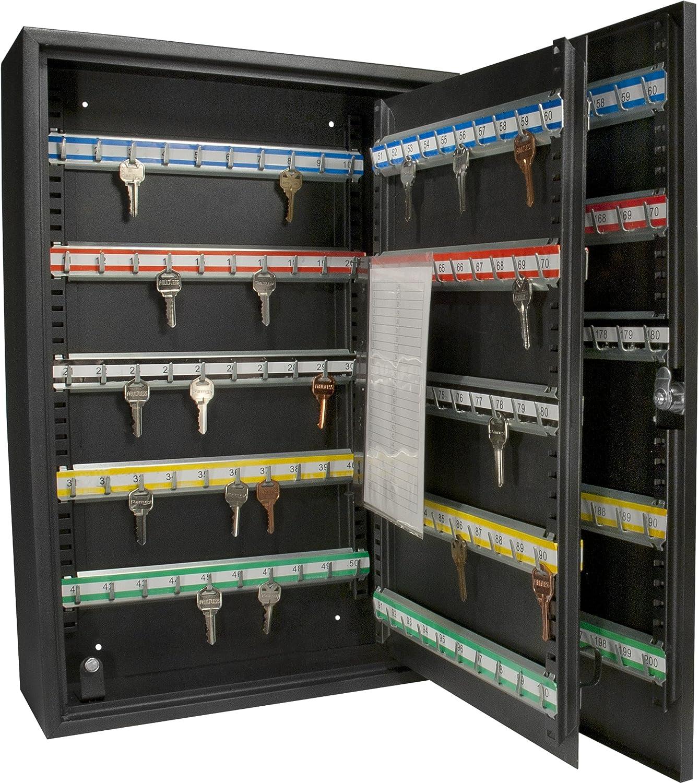 Amazon.com: BARSKA 200 Position Key Safe with Key Lock: Sports ...